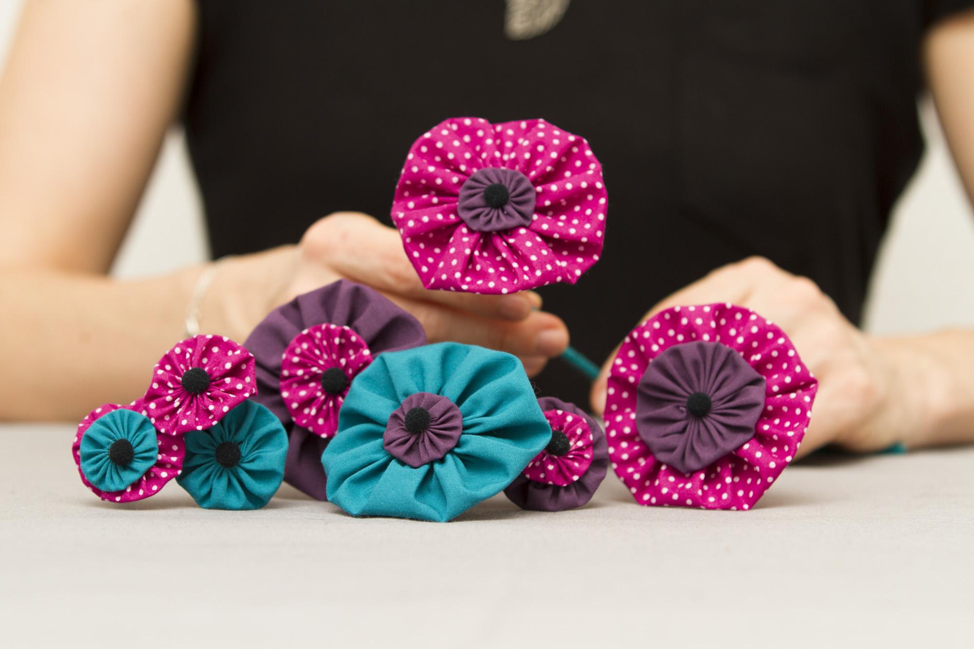 concours rougier pl f te des m res le bouquet de fleurs ternelles en tissus diy de la. Black Bedroom Furniture Sets. Home Design Ideas