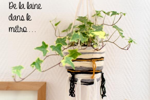 Suspension tisée pour plante